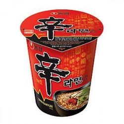 Nongshim Mega Spicy Shin Ramyun Cup 68g