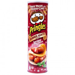 Pringles Sausage & Crispy Bacon