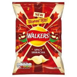 Walkers Spicy Sriracha 32.5g