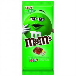 M&M's Mint Milk Chocolate with Mini's and Crisp Rice