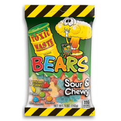 Toxic Waste Sour Chewy Bears