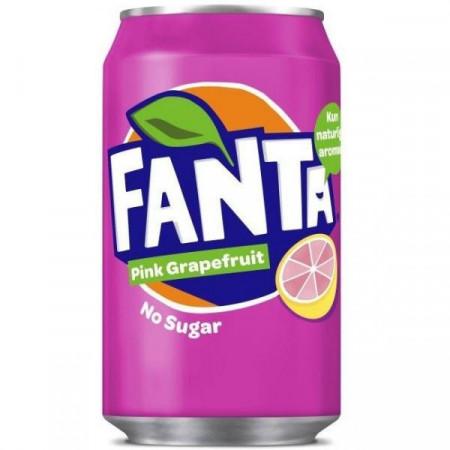 Fanta Pink Grapefruit No Sugar