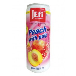 Jefi Peach with Pulp Drink