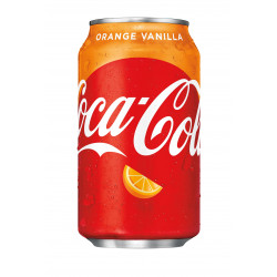 Coca-Cola Orange Vanilla USA