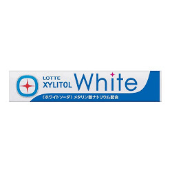 Lotte Xylitol White Soda