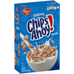 Post Chips Ahoy! Cereal