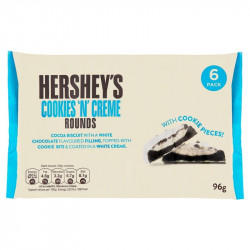 Hershey's Rounds Cookie's and Cream 6 Pack