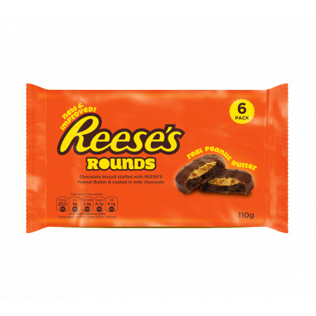 Reese's Chocolate Rounds Peanut Butter 6 Pack