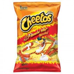 Cheetos Flamin Hot Crunchy Big Pack 226g