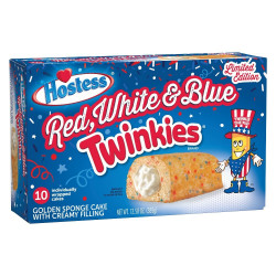 Hostess Twinkies Red, White and Blue