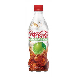 Coca-Cola Clear Lime Japan