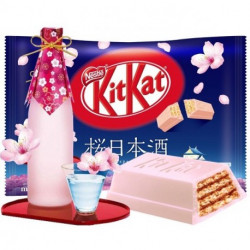 KitKat Mini Sakura and Sake- 1 Bar