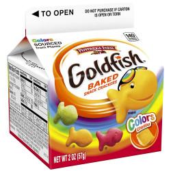 Goldfish Baked Cheddar Colors