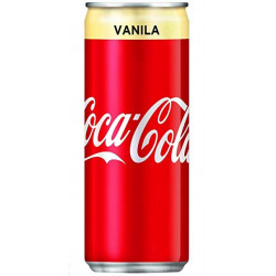 Coca Cola Vanilla 320ml Malaysia