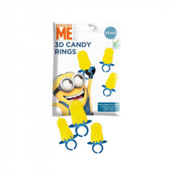 Bip Minion 3D Candy Ring
