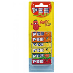 Pez Blister 6-pack Fruit