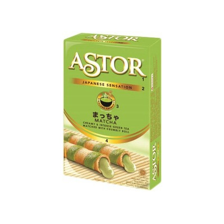 Astor Japanese Sensation Matcha Roll