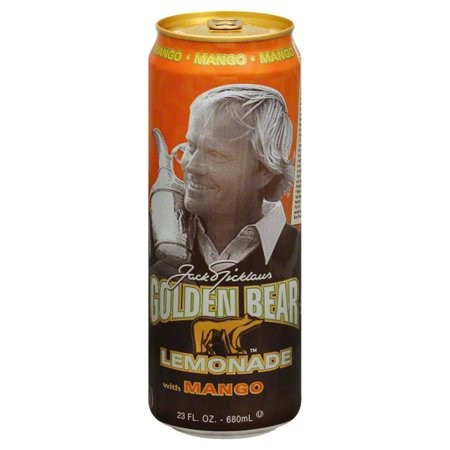 AriZona Golden Bear Lemonade with Mango