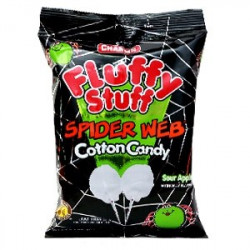 Charms Fluffy Stuff Spider Web Cotton Candy