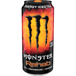 Monster Energy Rehab Orange Tea