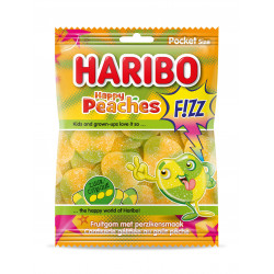 Haribo Happy Peaches FIZZ 70g