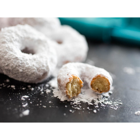 Hostess Powdered Sugar Mini Donettes