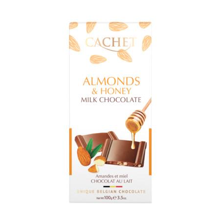 Cachet Milk Chocolate Almonds & Honey