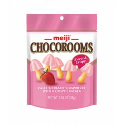 Meiji Strawberry Chocorooms