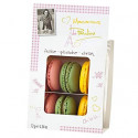 Macarons de Pauline Strawberry Pistachio and Lemon
