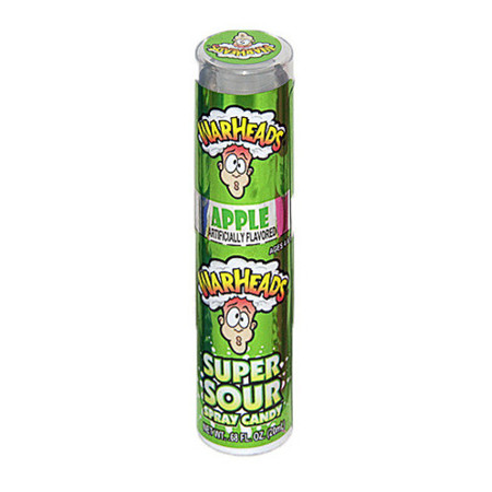 Warheads Extreme Sour Candy Spray Apple