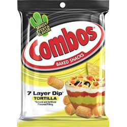 Combos 7 Layer Dip Tortilla Baked