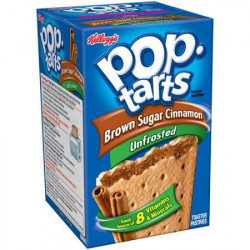 Pop Tarts Unfrosted Brown Sugar Cinnamon