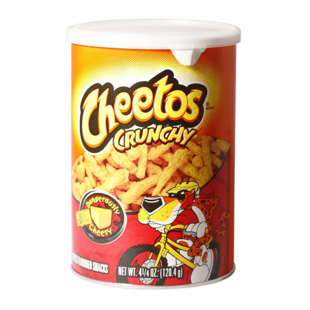 Cheetos Dangerously Cheesy Crunchy Canister