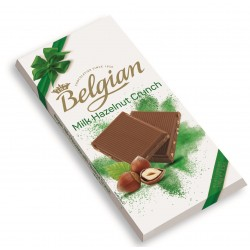 The Belgian Milk Hazelnut Crunch