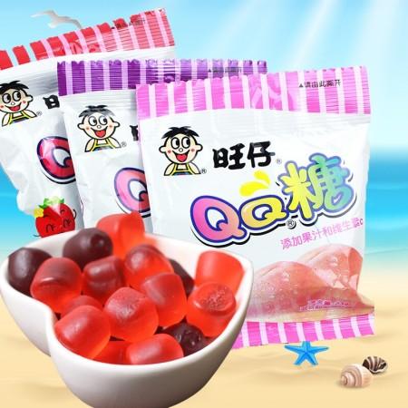Want Want Gummy Candy Peach