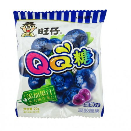 Want Want Gummy Candy Bluberry