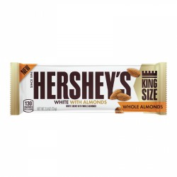 Hershey's White Whole Almonds King Size