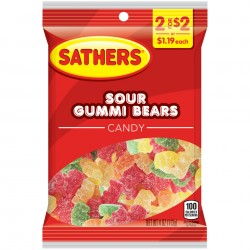 Sathers Sour Gummi Bears