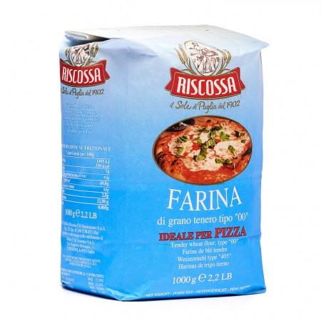 """Riscossa Farina Tipo """"00"""" Per Pizza 1kg"""