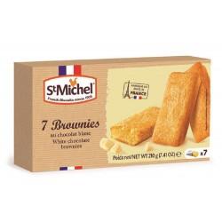 St Michel White Chocolate Brownie