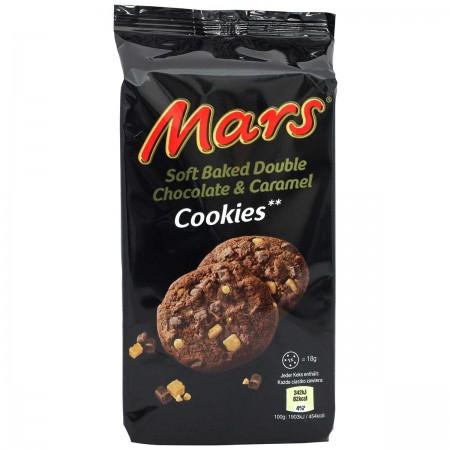 Mars Double Chocolate & Caramel Cookies
