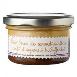 Foie Gras De Canard Confit d'oignons Et Truffes