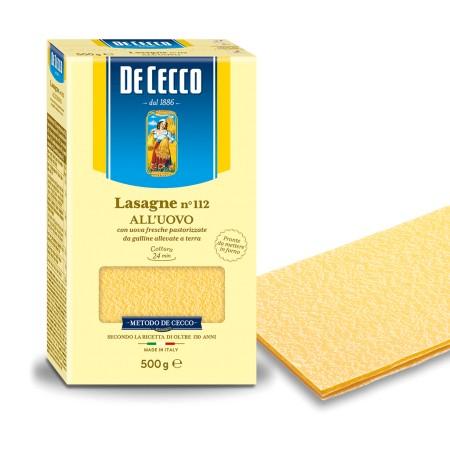 De Cecco Lasagne All'Uovo