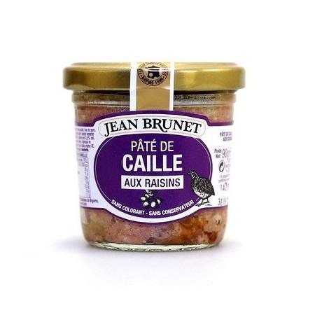 Jean Brunet Pate de Caille aux Raisins