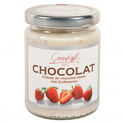 Grashoff Chocolat Blanc mit Erdbeeren