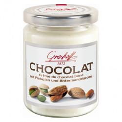 Grashoff Chocolat Blanc mit Pistazien und Bittermandelaroma