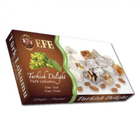 Efe Grape-Peanuts Turkish Delight