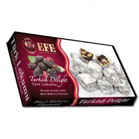 Efe Black Mulberry Turkish Delight
