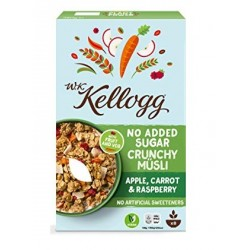 Kellogg's Crunchy Muesli Apple, Carrot & Raspberry