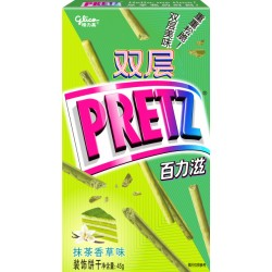 Glico Pretz Matcha Vanilla 45g